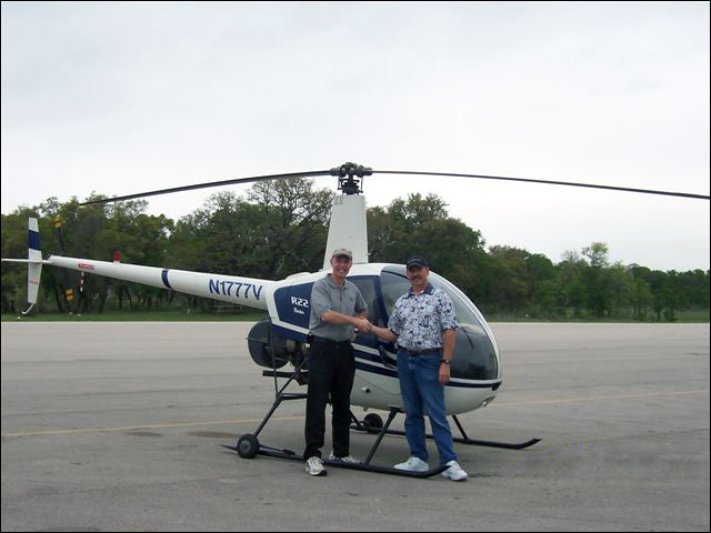 Don Arsenault Helicopter Instructer